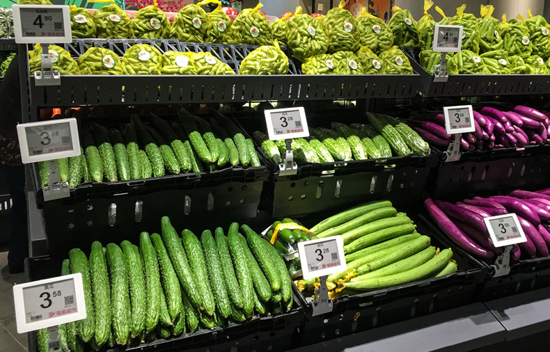 Produce_Case_with_Electronic_Shelf_Tag