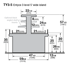 TY3-5, TY3-5-S Cross Section