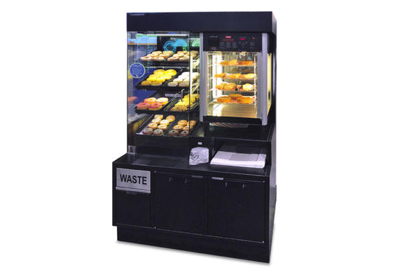 Combination Pastry Case with Warmer